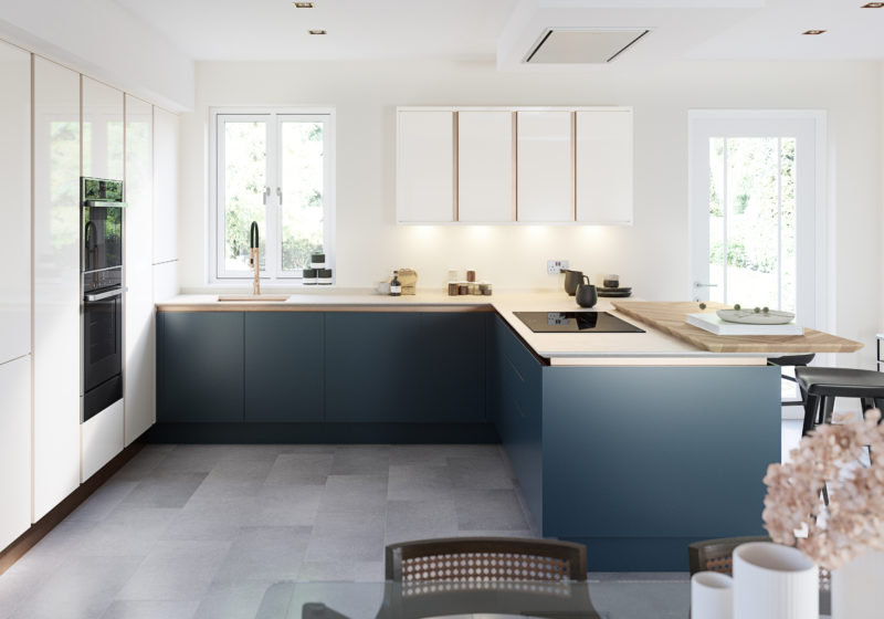 Porter Hartforth Blue & Gloss Porcelain