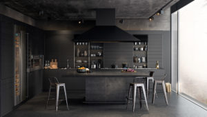 black-kitchen