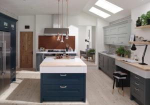 Top 10 Kitchen Cabinet Design Ideas For 2019 blue