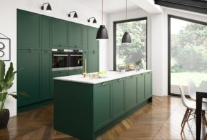 Top 10 Kitchen Cabinet Design Ideas For 2019 hunter green